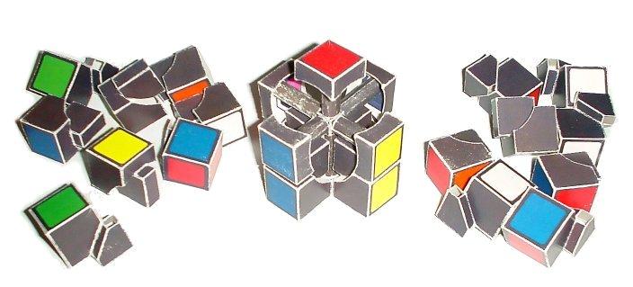 Как разобрать зеркальный кубик рубика схема